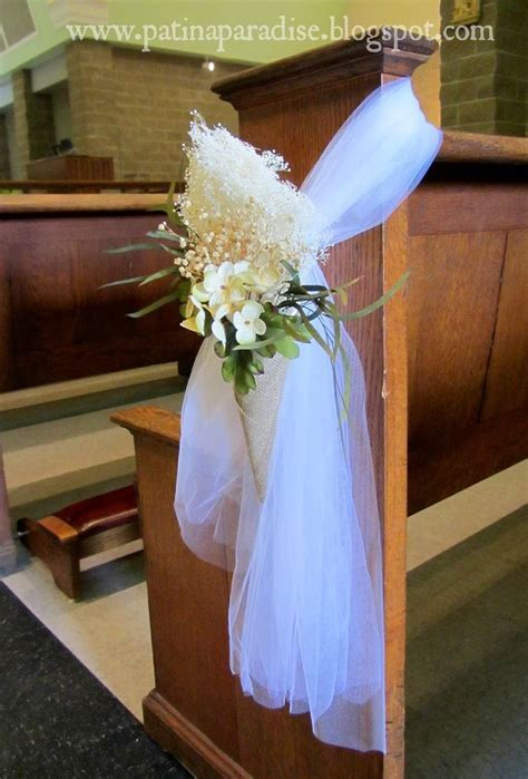 1000  ideas about Church Pew Wedding on Pinterest   Church