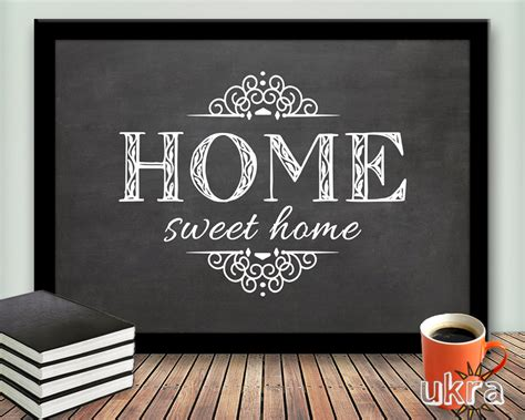 welcome home interiors home sweet home printable art wall decorwelcome