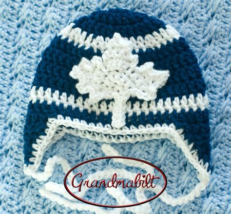 jersey knitting patterns to go with his toronto maple leafs jersey knitted