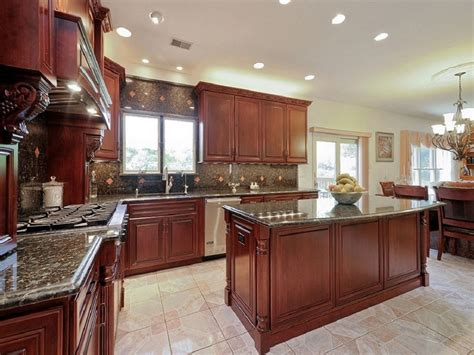 cherry wood kitchen cabinets 23 cherry wood kitchens cabinet designs ideas