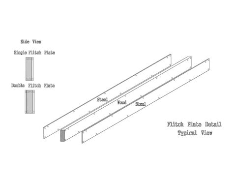 flitch beam span chart quotes