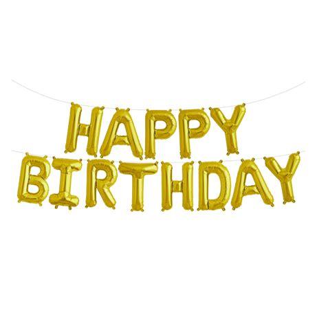 happy birthday happy birthday banner gold happy birthday garland gold