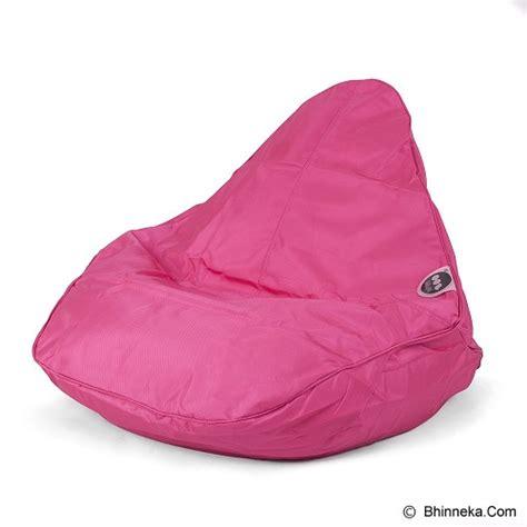Bantal Santai jual soo santai cousin beanbag pink murah