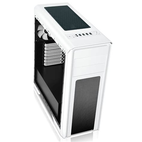 white pc case fans game max falcon gaming pc case white with 2x 12cm 16