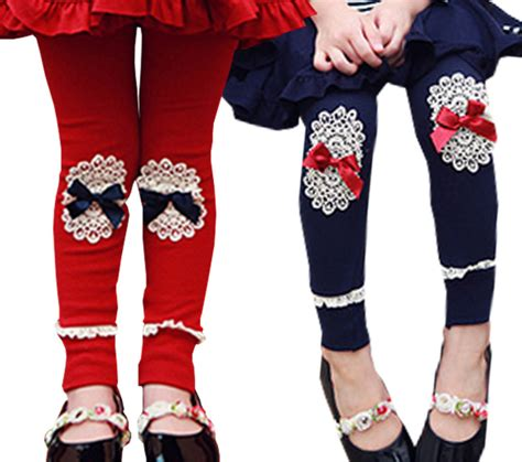 Legging Fashion Baby Sorex K5303 2014 fashion new korean baby lace embroidered cotton for