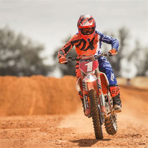 ktm motocross gear fox racing 2017 mx 360 creo orange blue ktm jersey
