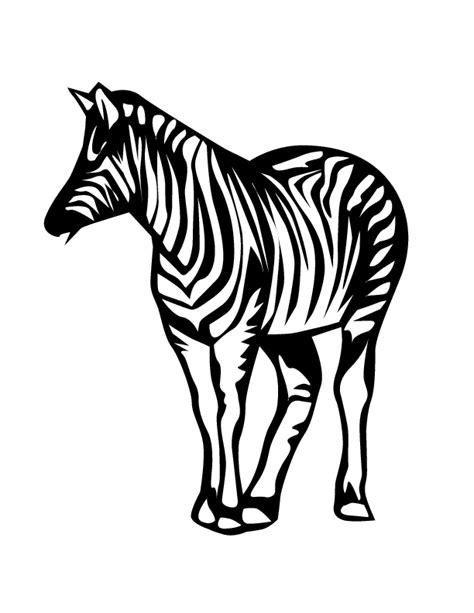 zebra pattern coloring page free coloring pages of zebra pattern