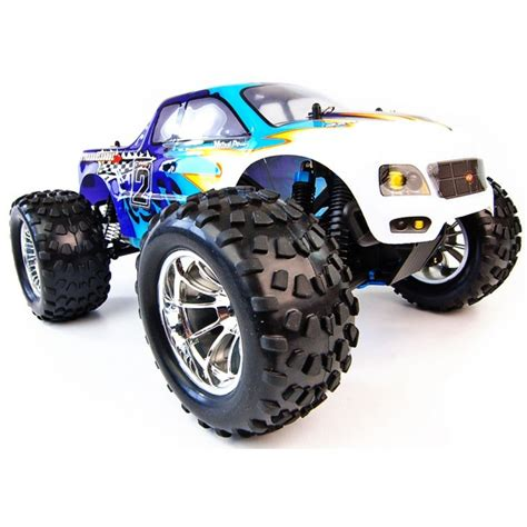 rc nitro truck 1 10 4x4 bug crusher nitro remote truck 60mph