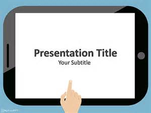 free tablet powerpoint templates myfreeppt com
