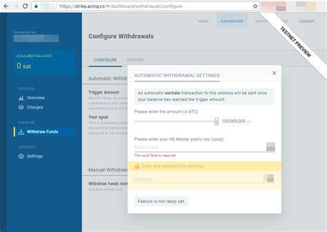 how to set up bitcoin core wallet get xpub key from bitcoin core wallet i try to setup the