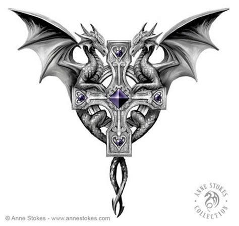 anne stokes tattoo designs the world s catalog of ideas