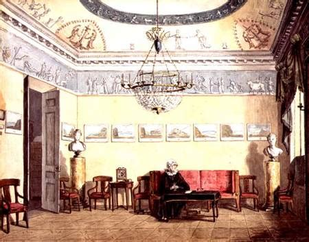 Sitting In This Room Russian by Neo Classical Sitting Room Russian School Als Kunstdruck
