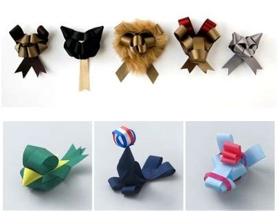 how to make folded ribbon animals 38 best images about unique origami ribbons and paper on