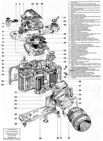 these schematics offer an exploded view of nikon slr cameras the within pictures