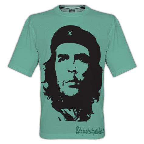 Kaos Che Guevarra koleksi psd desain kaos che guevara t shirt style