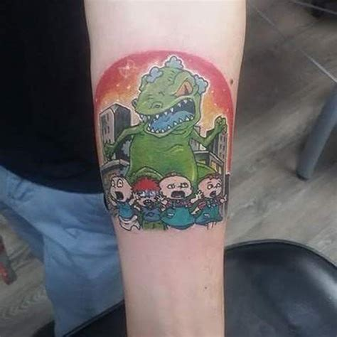 rugrats tattoo 20 nickelodeon rugrats tattoos