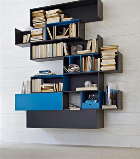 modern wall storage modular shelving systems by rodolfo doldoni modern wall