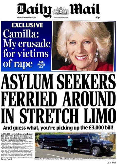 news latest headlines photos and videos daily mail online asylum seekers stretch limo transport deeply
