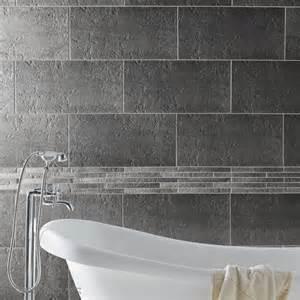 carrelage salle de bain gris et blanc peinture faience