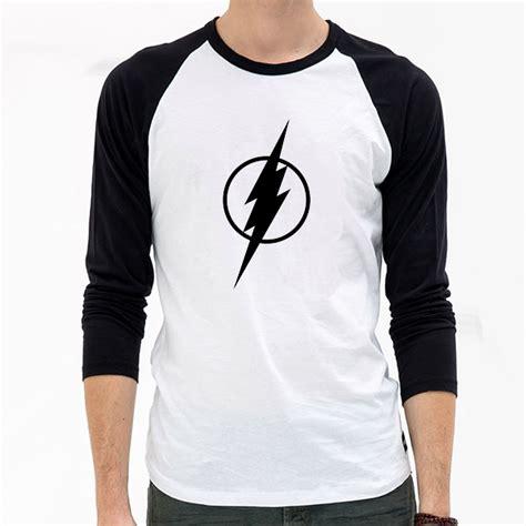 T Shirt Boy Swagg the flash logo print t shirts raglan sleeve t shirt swag shirt boy
