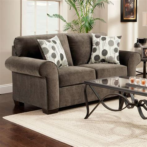 Furniture Worcester by Worcester Transitional Fabric Loveseat Elizabeth Ash