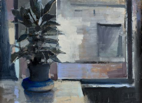 north window plants solo exhibitions gage opdenbrouw sandy ostrau and james