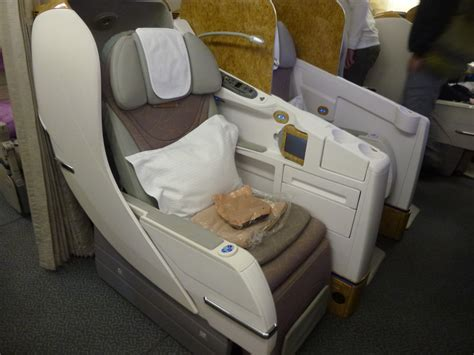 emirates seat peaceful night in emirates business class the luxe insider