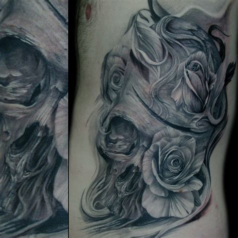 rose tattoo ribs rib tattoos page 19