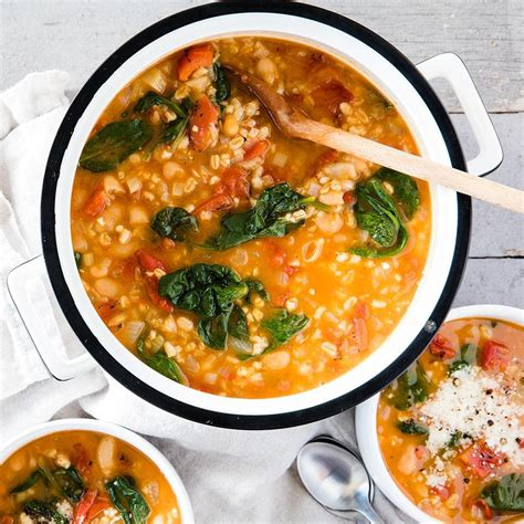 Kitchen Planner Free bean amp barley soup recipe eatingwell