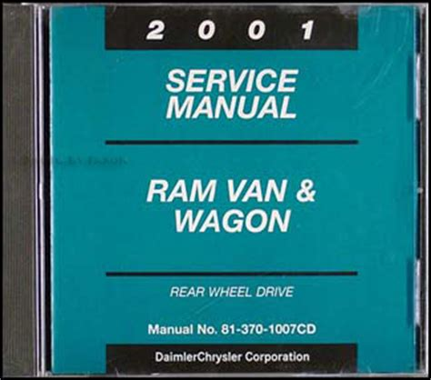 manual repair autos 2001 dodge ram van 3500 electronic valve timing 2001 dodge ram van wagon repair shop manual original b1500 b3500