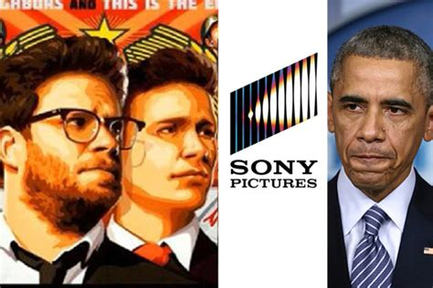 how the hacking at sony over the interview became a the interview movie poster sony logo president obama