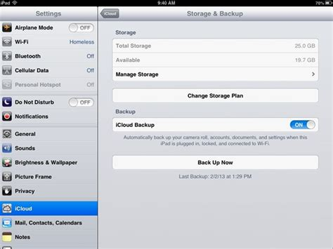 how to make room for icloud backup how to manage icloud storage backup on the insight