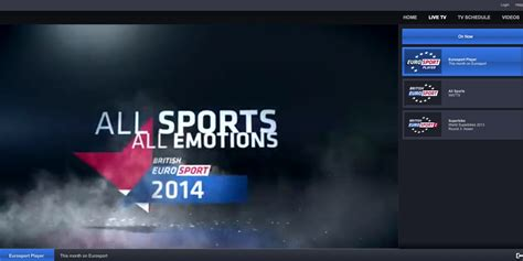 eurosport live mobile unblock eurosport player and live sochi olympics 2014