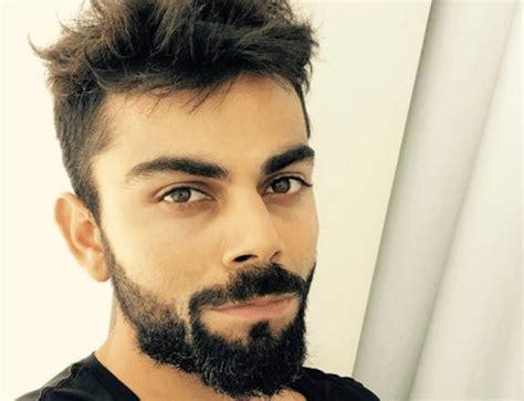 virat latest beard style imagea 2017 virat kohli hairstyle bblunt