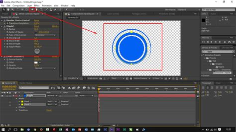 tutorial membuat opening video dengan after effect cara membuat opening dissolve ripple dengan after effects