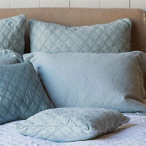 Notte Pillows by On Sale Notte Linens Chesapeake Pillow Sham
