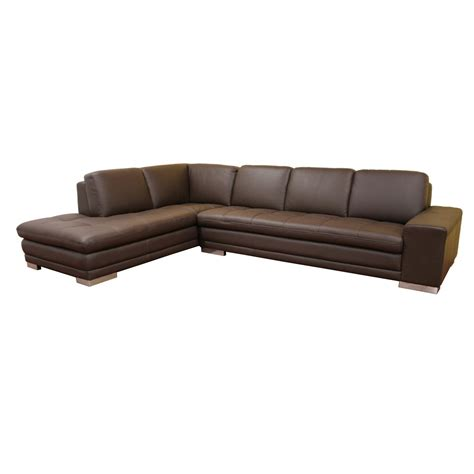 leather sectional sofa chaise sears
