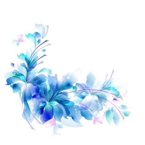 wallpaper blue flowers design decorative backgrounds for word documents blue floral