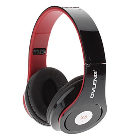 Headphone Ovleng X8 ovleng x8 3 5mm foldable powerful sound experience dynamic bass headphone with microphone