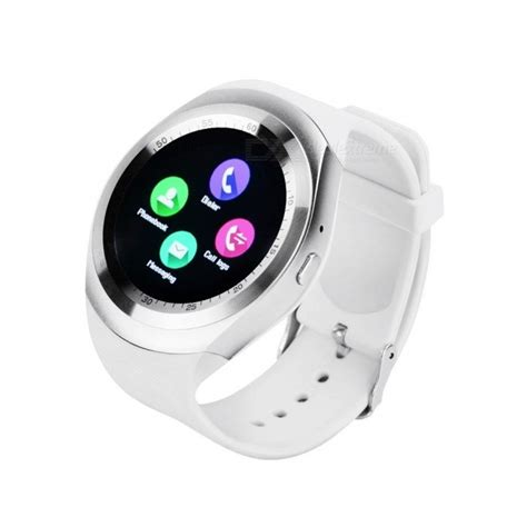 Y1 Smartwatch Support Nano Sim And Tf Card y1 smart 1 54 quot touch screen fitness activity tracker