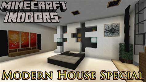 Minecraft Interior Design Bedroom Minecraft Indoors Interior Design Modern House Special