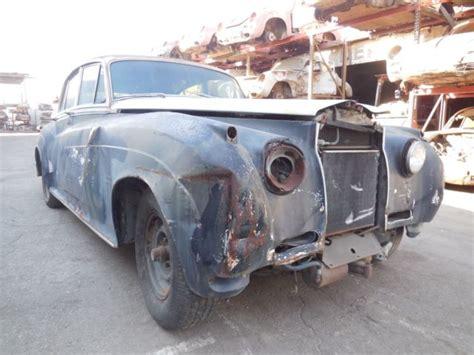 1961 rolls royce silver cloud ii project car for