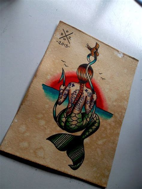 kinkos tattoo paper now this is a great mermaid tattoo especially for someone