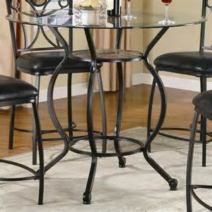 coaster counter height dining table with