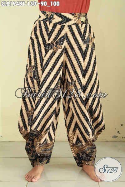 Celana Batik Wanita Panjang R1213 model celana batik jawa tengah celan panjang kulot