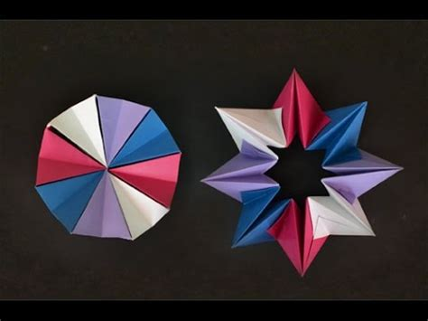 How To Make A Paper Magic Circle - origami magic circle