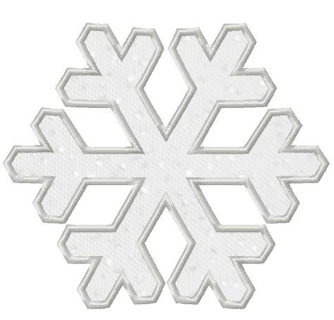 Snowflake Pattern For Applique | free embroidery design snowflake applique i sew free