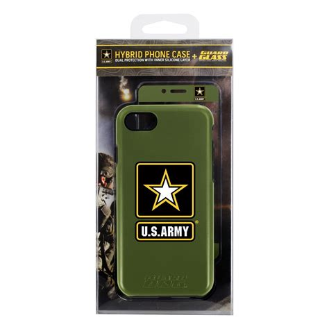 Army For Iphone 6 us army logo hybrid for iphone 6 with guard glass