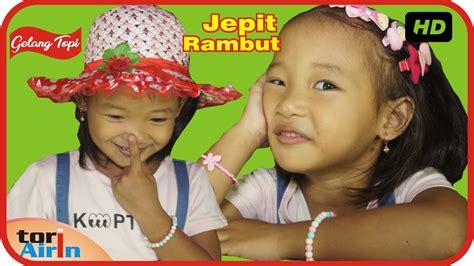 Topi Anak Perempuan 3 gelang tangan jepit rambut topi saya bundar accessories anak perempuan til cantik