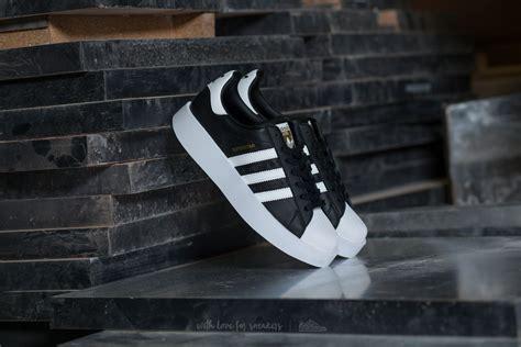 Adidas Superstar Foundation Pack Gold Logo White Black adidas superstar bold w black ftw white gold metallic footshop
